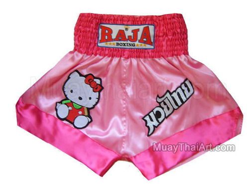 Hello+kitty+muay+thai+shorts