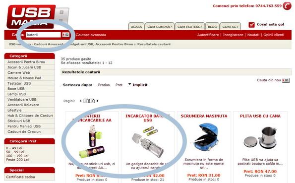 Acumulatori USB