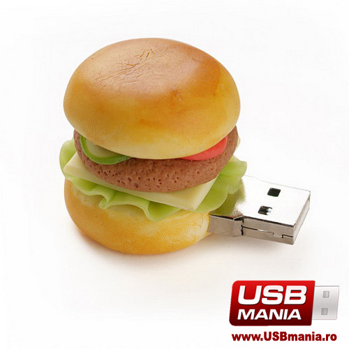 stick USB Freshly Baked in forma de hamburger