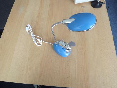 lampa usb 13 leduri albastra