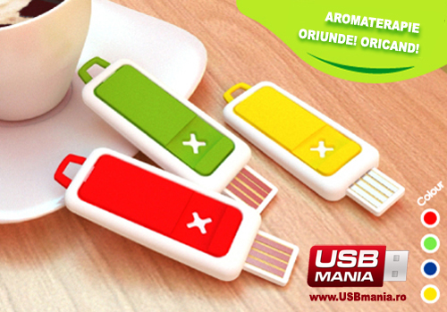 stick aromaterapie usb