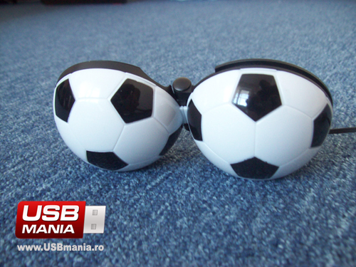 Boxe USB Minge de Fotbal