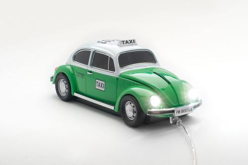 cadou mouse usb gadget taxi beetle