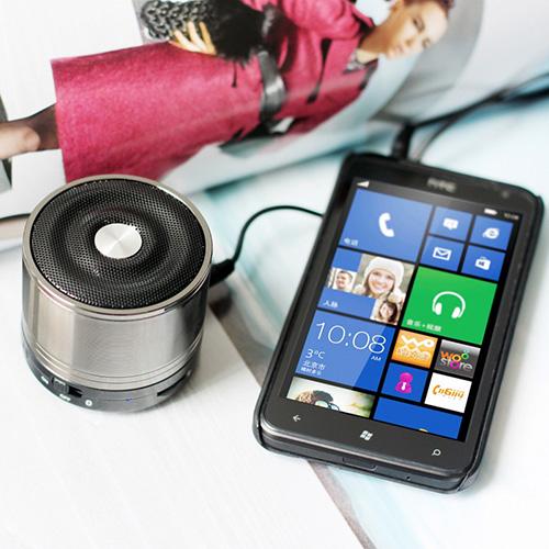 boxa portabila colia sound v2 argintiu smartphone