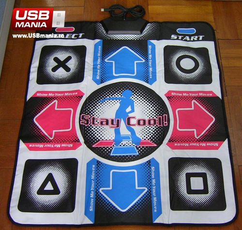 party dance mat