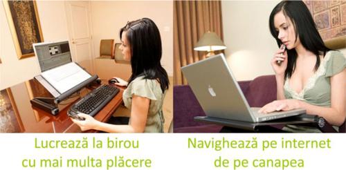masa laptop cu cooler