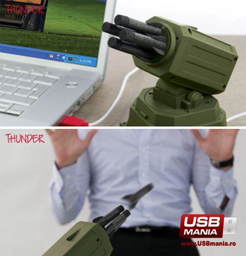 gadget usb lansator rachete