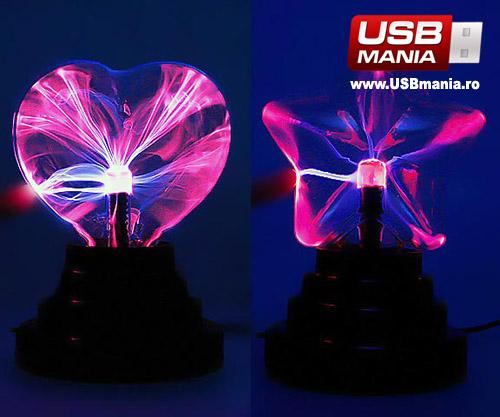 glob plasma gadget usb inima stea valentine's day