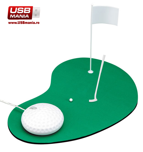 set de golf mouse si mousepad