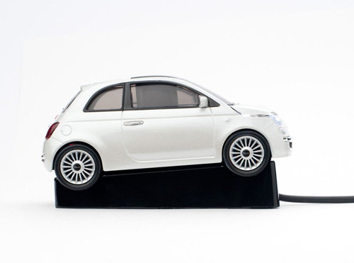 masina mouse usb fiat 500 wireless