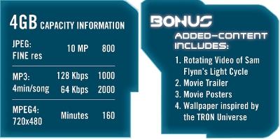 memorie usb tron 4 gb bonus