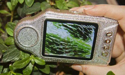 microscop portabil zoom planta