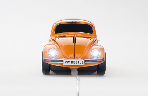 mouse masinuta vw beetle