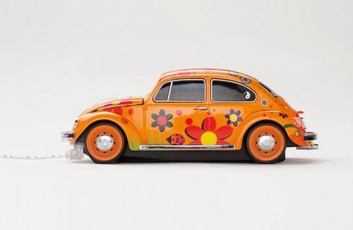 mouse masina flori beetle