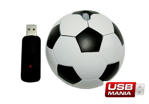 mouse wireless fotbal