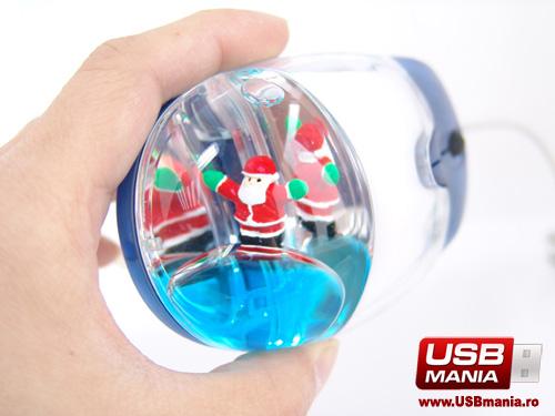 mouse cu lichid de craciun