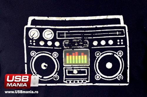 tricou muzical mp3