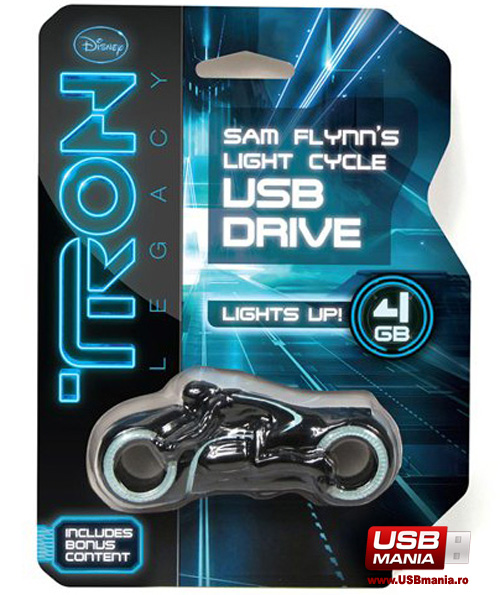 tron light cycle memorie usb