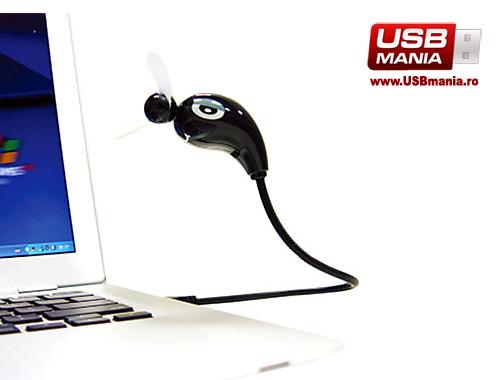 ventilator usb flexibil birou