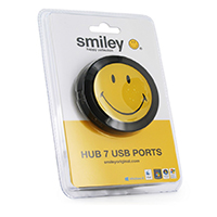 Hub usb 4 porturi Smiley Original