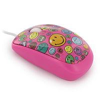 Mouse Smiley World Pink