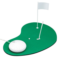 Set Golf Mouse Pad + Mouse