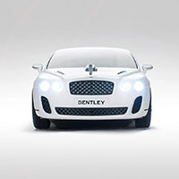 Mouse Bentley Continental Supersport wireless nano - alb