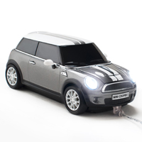 Mouse Masinuta - Mini Cooper Silver Grey