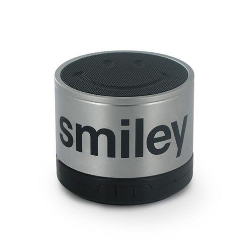 boxa portabila smiley silver