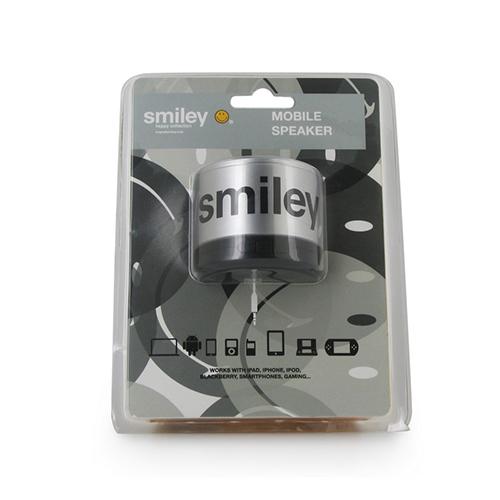 boxa portabila smiley original argintiu
