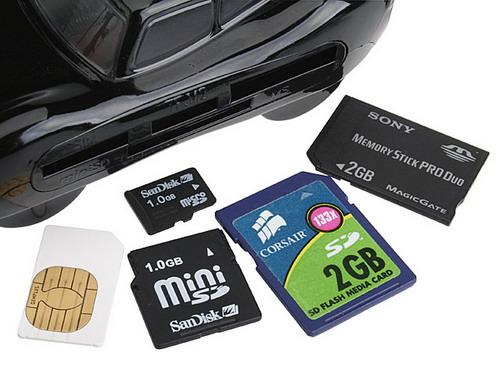 Cititor Carduri si SIM telefon