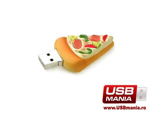 stick USB Freshly Baked in forma de pizza