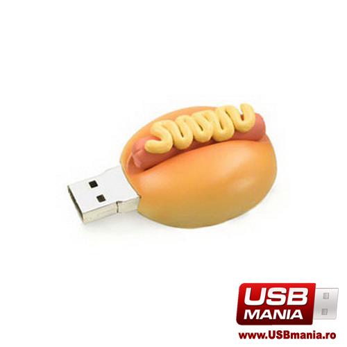 stick USB Freshly Baked in forma de hot dog