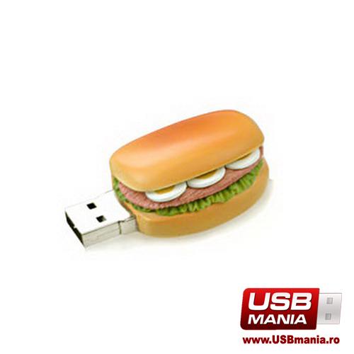 stick USB Freshly Baked in forma de sandwich