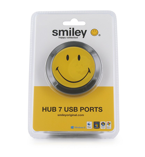 hub usb smiley 7 porturi