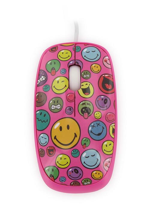 mouse colorat smiley