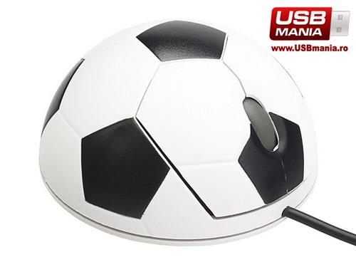 mouse usb fotbal