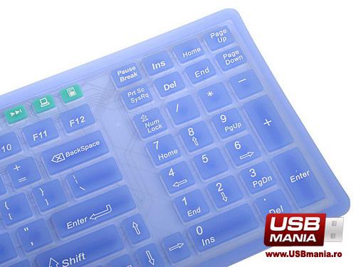tastatura flexibila