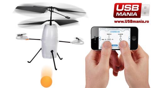bombardier USB cu bile controlat iOS iphone ipad