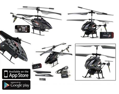 elicopter telecomanda iphone
