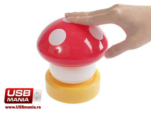 lampa usb ciupercuta