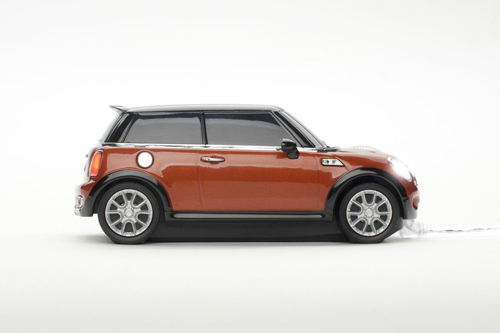 mini cooper spice orange mouse automobil