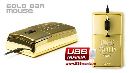 mouse lingou de aur bling bling