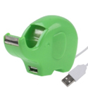 Hub USB Elefantel - Dispenser Banda Adeziva